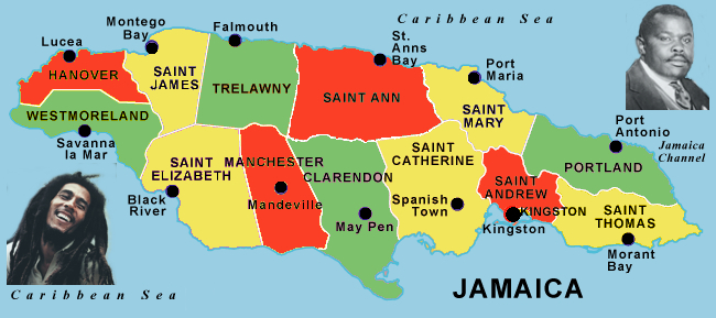 Saint James Jamaica ToZion – Jamaica Tourist Attractions Map